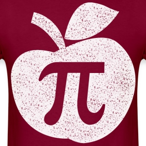 Apple pie pi day - Men's T-Shirt