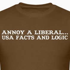Annoy a liberal usa facts and logic