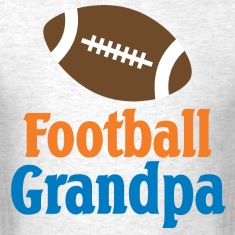 Football Grandpa Gift T-Shirts