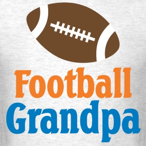 Football Grandpa Gift T-Shirts - Men's T-Shirt