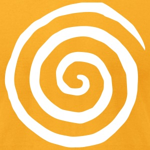 The Urban Geeks White Spiral T-Shirt - Men's T-Shirt by American Apparel