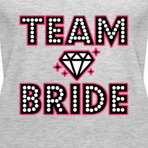 Team Bride Bridesmaid Bachelorette party shirt - Women's Premium Tank Top
