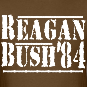 Reagan bush'84 - Men's T-Shirt