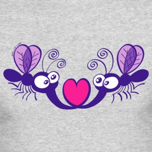Mosquitoes in Love Long Sleeve Shirts - Men's Long Sleeve T-Shirt by Next Level