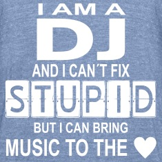 dj stupid with heart T-Shirts