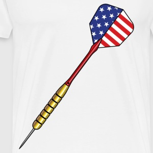 USA dart - Men's Premium T-Shirt