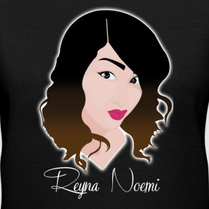 Reyna Noemi (Worthy of thy Crown) - Women's V-Neck T-Shirt