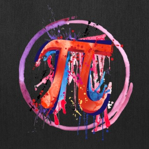 Emotional Pi, Drip Art - Tote Bag