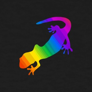 Striped Rainbow Salamander - Women's T-Shirt