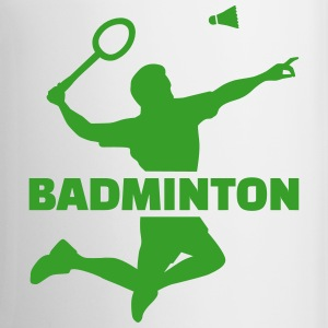Badminton Mugs & Drinkware - Coffee/Tea Mug