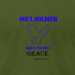 Soul soldier 2 T-Shirts - Men's T-Shirt by American Apparel