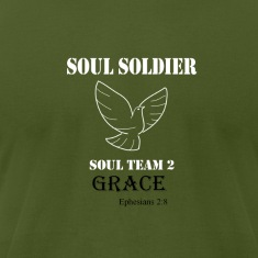 Soul Soldier 2 white T-Shirts