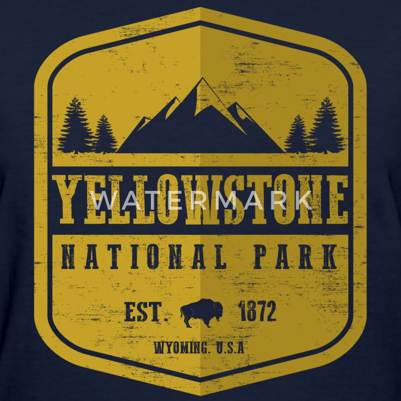 Yellowstone National Park Women's T-Shirts - Women's T-Shirt