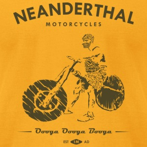 Neanderthal Motors Tee - Men's T-Shirt by American Apparel