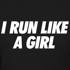 Run Like A Girl Women's T-Shirts - Women's T-Shirt