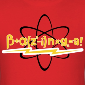 BAZINGA Big Bang Theory - Men's T-Shirt