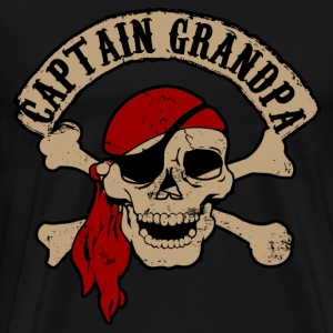 Captain Grandpa T-Shirts - Men's Premium T-Shirt
