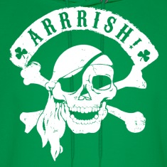 Irish Pirates Hoodies