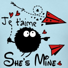 She's mine Men's T-Shirt