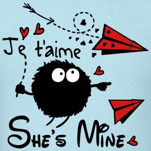 She's mine Men's T-Shirt - Men's T-Shirt