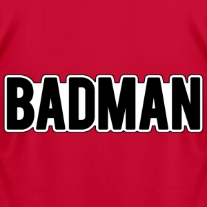 badman T-Shirts - Men's T-Shirt by American Apparel