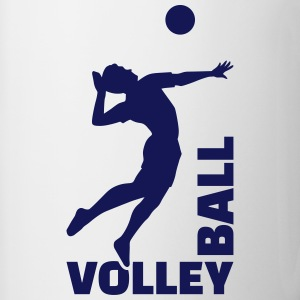 Volleyball Mugs & Drinkware - Contrast Coffee Mug