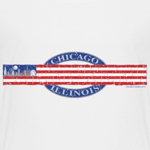 Chicago Skyline USA - Kids' Premium T-Shirt