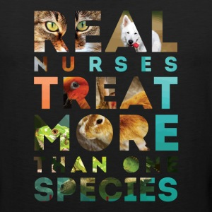 Veterinary Nurse Real Nurses T-shirt Tank Tops - Men's Premium Tank