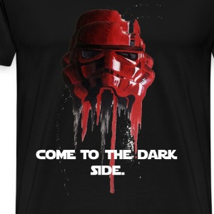 Star wars red storm trooper - Men's Premium T-Shirt