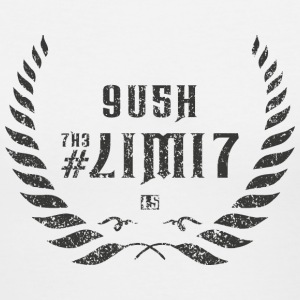 push the limit leet grey Women's T-Shirts - Women's V-Neck T-Shirt