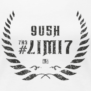push the limit leet grey Women's T-Shirts - Women's Premium T-Shirt