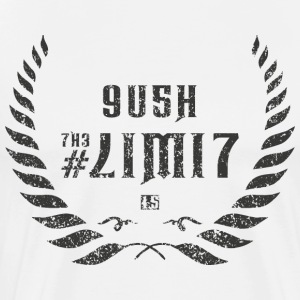 push the limit leet grey T-Shirts - Men's Premium T-Shirt