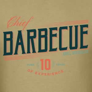 Chief barbecue - Men's T-Shirt
