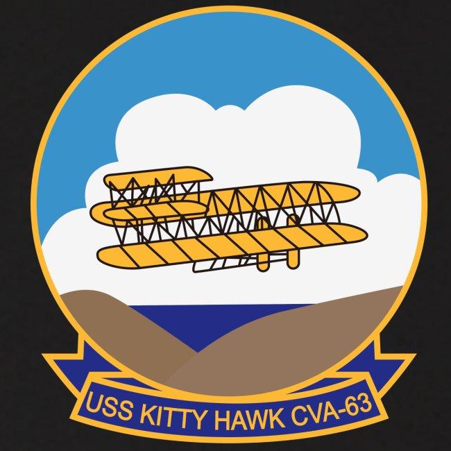 USS KITTY HAWK CVA-63 COMBAT CRUISE 1970-71 HOODIE