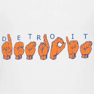 Detroit American Sign Language Baby & Toddler Shirts - Toddler Premium T-Shirt