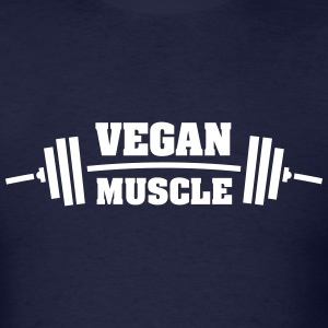 Vegan Muscle T-Shirts - Men's T-Shirt