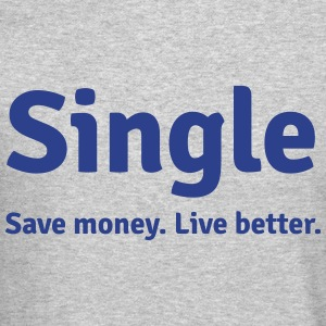 Single life Long Sleeve Shirts - Crewneck Sweatshirt