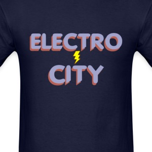 Electro City - Men's T-Shirt