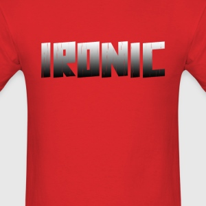 Ironic Slim Fit - Men's T-Shirt