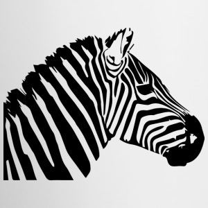 Zebra head Mugs & Drinkware - Coffee/Tea Mug