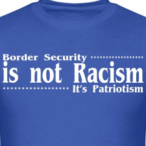 Border security car bumper - Men's T-Shirt