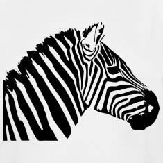 Zebra head T-Shirts