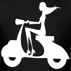 Apo28 girl scooter - Men's T-Shirt