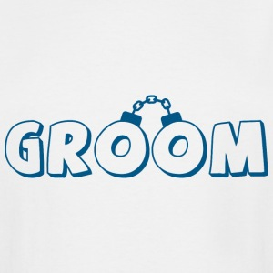 Funny groom text T-Shirts - Men's Tall T-Shirt