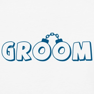 Funny groom text T-Shirts - Baseball T-Shirt