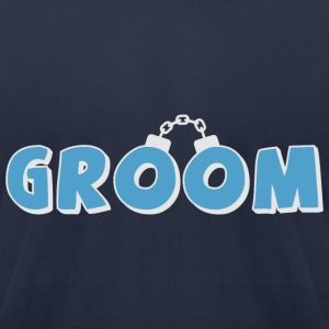 Funny groom text T-Shirts - Men's T-Shirt by American Apparel