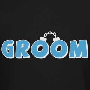Funny groom text Long Sleeve Shirts - Crewneck Sweatshirt