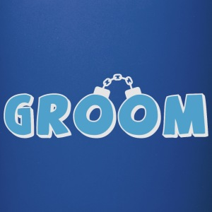 Funny groom text Mugs & Drinkware - Full Color Mug