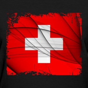 Switzerland Flag - Women's T-Shirt