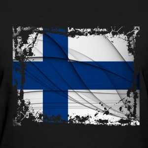 Suomi Flag - Women's T-Shirt